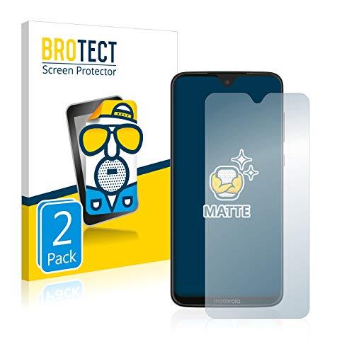 BROTECT 2X Entspiegelungs-Schutzfolie kompatibel mit Motorola Moto G7 Plus / G7 Bildschirmschutz-Folie Matt, Anti-Reflex, Anti-Fingerprint