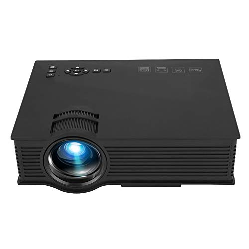 Vbestlife LED Wireless Projector,Mini Wireless Beamer,LCD WiFi Projector,with Remote Control,Multi-Coated Optical Glass Lens,LED Light Source Design,110-240V(110-240V)