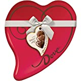 Dove Valentine's Assorted Chocolate Candy Heart Gift Box 9.82-Ounce 24-Piece Tin