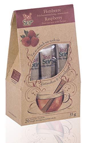 Himbeere   20 umweltfreundliche Teesticks - Tea Sticks