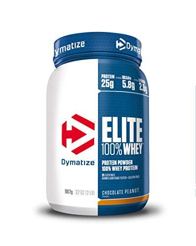 Dymatize Nutrition Nutrition Elite Whey, 907 g, Chocolate Peanut