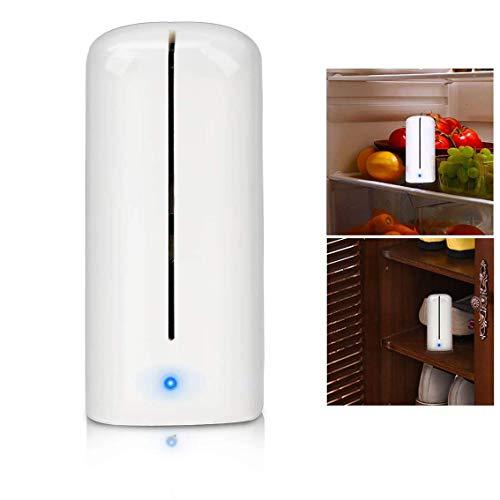 Powcan Ozone Kühlschrank Luftreiniger Kühlschrank Sterilisierende Deodorant Mini Geruch Absorber Eliminator Luftreiniger für Gefrierschrank, Schuhschrank, Kleiderschrank