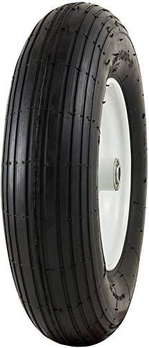 National Standard Universal Fit, Flat Free Wheelbarrow Tire (Ribbed Tread)
