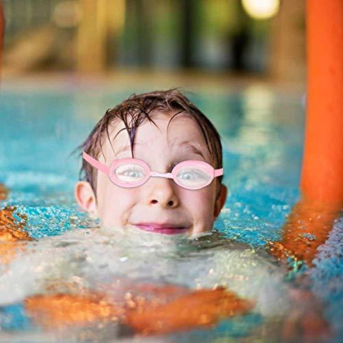 DAUERHAFT Gafas y Equipo de natación Impermeables, a Prueba de Fugas y antivaho Equipo de natación de diseño ergonómico, para Deportes acuáticos(YG07 Pink)