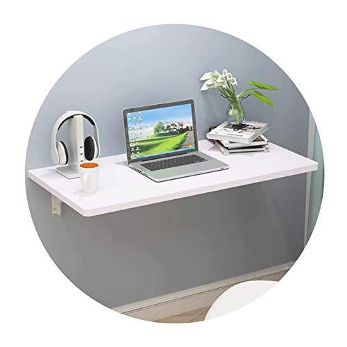 Eckklapp-Computertisch, schwimmende Werkbank Hochleistungs-Beistelltisch für kleine Räume Aufbewahrungsrahmen Garage Küchen-Beistelltisch, 9 Größen (Farbe: Schwarz, Größe: 90X60X40CM / 35X24