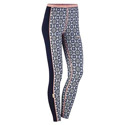 Kari Traa Women's Rose Base Layer Bottoms- 100% Merino Wool Thermal Pants Calm Medium