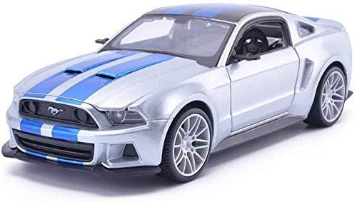 Ford Mustang Coupe de VI 50 azul oscuro th aniversario colección exclusiva 2015 1.