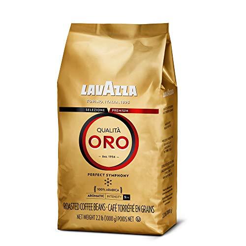 Lavazza Qualità Oro Whole Bean Blend, Medium Roast, 2.2 Pound (Pack of 1)