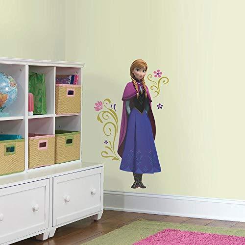 Sticker Géant Repositionnable Disney la Reine des Neiges Anna et Sa Cape