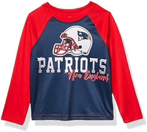 NFL New England Patriots Boys Long Sleeve TEAM TEE SHIRT Team Color 2T product image