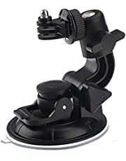 9.5cm Suction Cup Mount and 1/4 inch Steel Thread Tripod Mount & Nut Gopro Hero 3 2 1