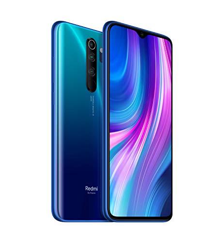 "Xiaomi Redmi Note 8 Pro - Smartphone de 6.53"" FHD+ (6 GB RAM, 64 GB ROM, cámara cuádruple de 64 MP, MTK Helio G90T, 4G, batería de 4500 mAh) Ocean Blue"