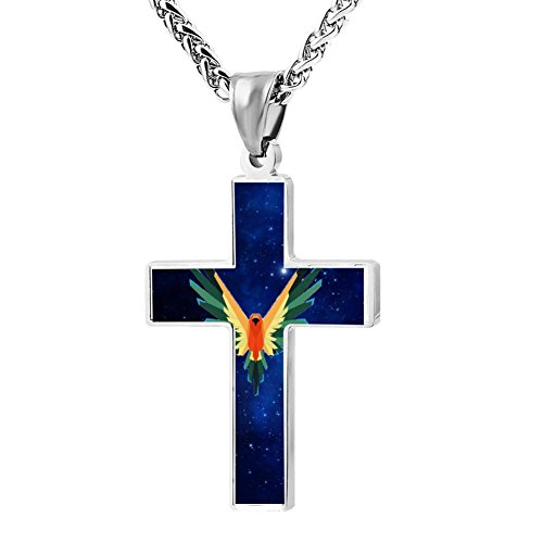 BTDB66 Logan Paul Maverick Cross Religious Necklace