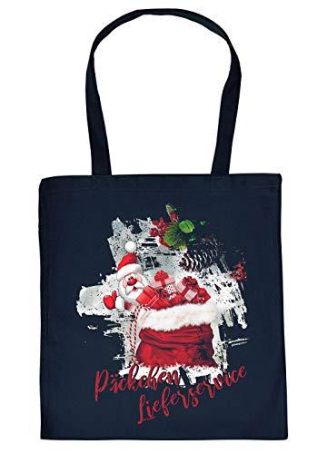TITAGU Weihnachts-Stofftasche/Beutel Christmas-Motiv: Päckchen Lieferservice