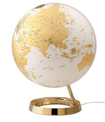 TECNODIDATTICA Tecnodidaktische Weltkarte Atmosphere Light&Colour Metal Gold Farbe 0331F7