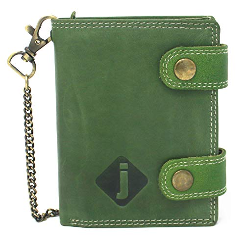 Biker Wallet with Anti Theft Chain and RFID Blocking -$13.87(64% Off)