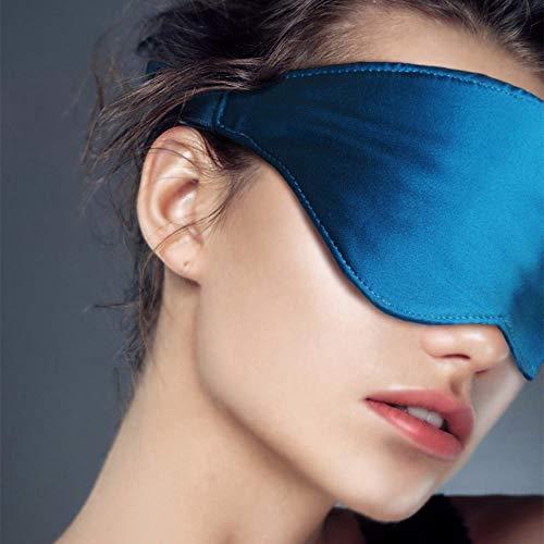 Breo Seidene Schlafmaske Weich und atmungsaktiv, Augenmaske Anti-Licht mit angenehmer Wärme Fördert den Schlaf, Guter Verbündeter für Reisen Ruhe-Rekuperatoren - iMask