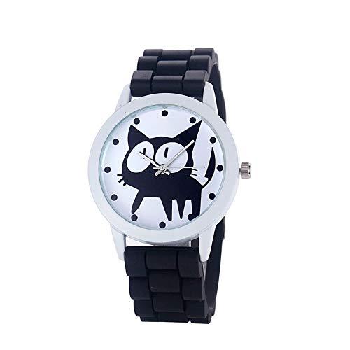 Meigold Relojes de mujer de silicona, bonitos relojes de pulsera para San Valentín, regalo de