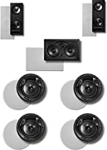 Polk 7.0 Surround System: Pair of 265rt, One 255crt In-wall Front, 2pairs 0f 90rt (Bundle of 7 Speakers) In-ceiling Rear