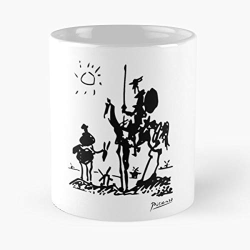 Pablo Picasso Don Quixote 1955 Artwork Shirt Reproduction Classic Mug