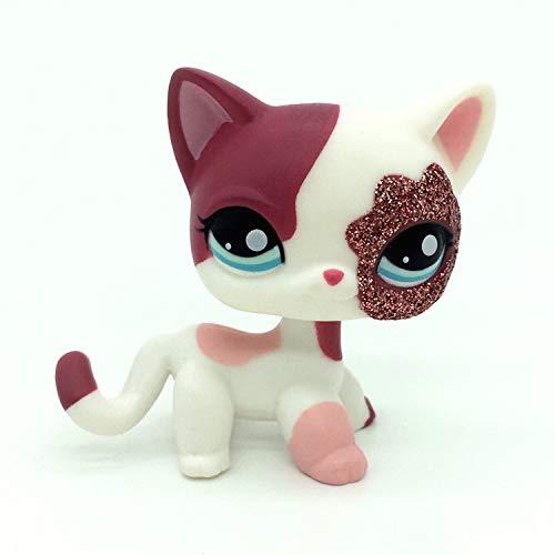 Pet Shop Jouets LPS rares sur Pied Forme Masque de Chat à Poil Court (Choix Votre Chat) pour Enfants Cadeau 1PC, 2484