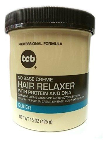 Relaxer / Glättungscreme Tcb Creme Hair Relaxer SUPER 425g