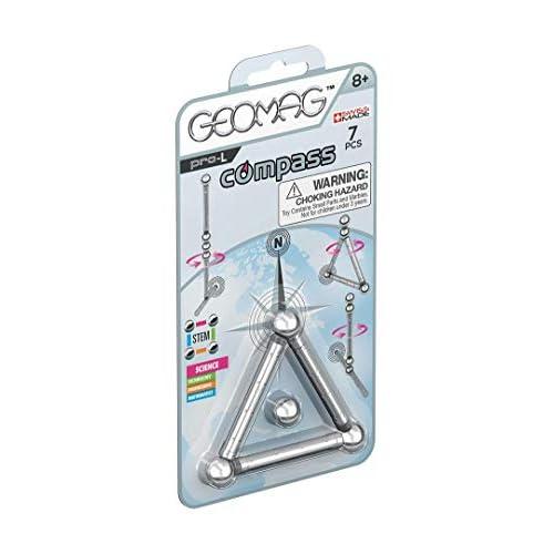 Geomag PRO-L 016 Costruzioni Magnetiche, Confezione da 7 pezzi