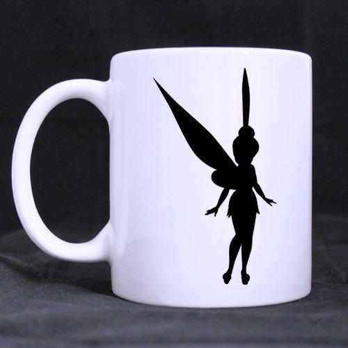 Diy Funny Mugs Tinkerbell Pumpkin Carving Patterns Custom 11 OZ Large White Mug Ceramic Coffee Tea Germic Cup
