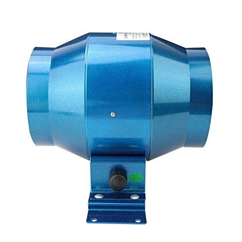 Ventilador de conducto de 4 '', ventilador de conducto, AC220V 4'160CFM con 0-100% ajustable para el hogar