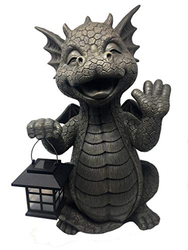 MystiCalls by Mayer Chess Gartendrache Big Boy - Garten, Figur, Drache, Laterne