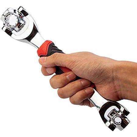 mt32 8 in 1 Socket Wrench 12-19MM Hex K Tool International W-136PN
