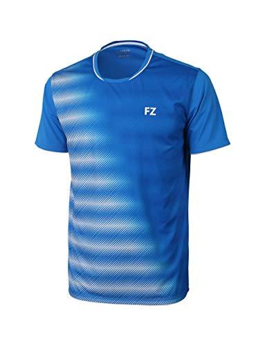 FZ Forza - Sport T-Shirt Hudson - blau, für Herren - geeignet für Fitness, Running, Fußball, Squash, Badminton, Tennis etc. - L