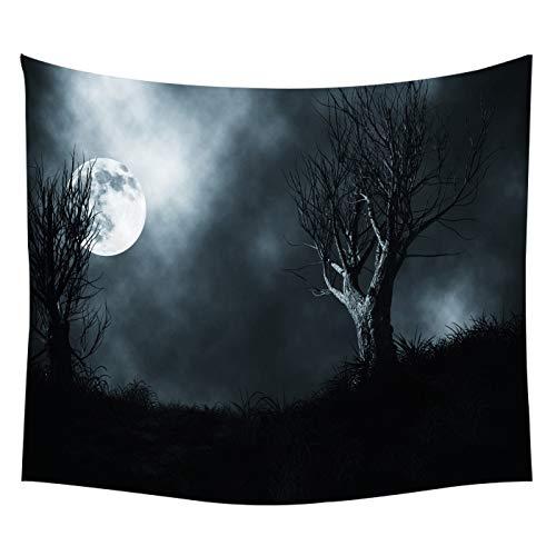 WERT Luna Diferente Superficie de la Luna Creativa Tapiz de la Superficie de la Tierra Dormitorio Familiar Sala de Estar Fondo Manta de Pared Tapiz A1 180x200cm