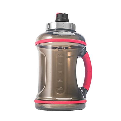 Botella Agua Deporte Alta Capacidad Botella Gimnasio ErgonóMico Bidones para Agua para NiñOs Hogar Cocina Café Oficina