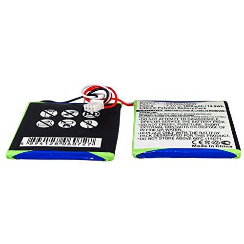 subtel® Qualitäts Akku kompatibel mit Dual DVD-P702, MC742819231 1800mAh Ersatzakku Batterie