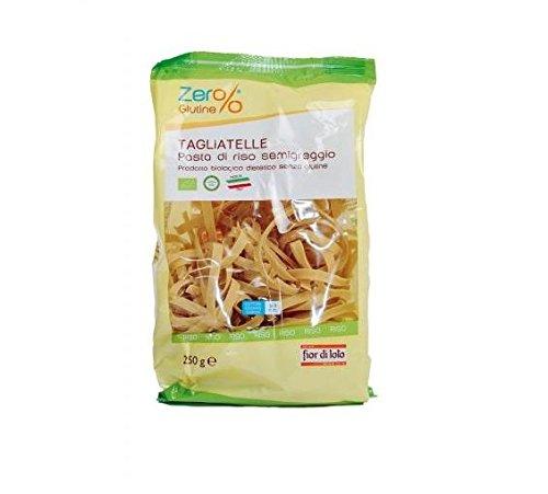 Fior di Loto Zero% Glutine Tagliatelle aus halbgerechtem Reis.