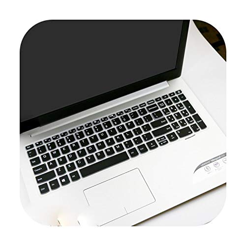 Laptop-Tastaturabdeckung für Lenovo IdeaPad 330 320 320-17 330-17 43,9 cm (17,3 Zoll) HD - i5-8250U 17 Zoll (43,2 cm) Laptop Notebook Tastatur Cover Skin Protector - Schwarz