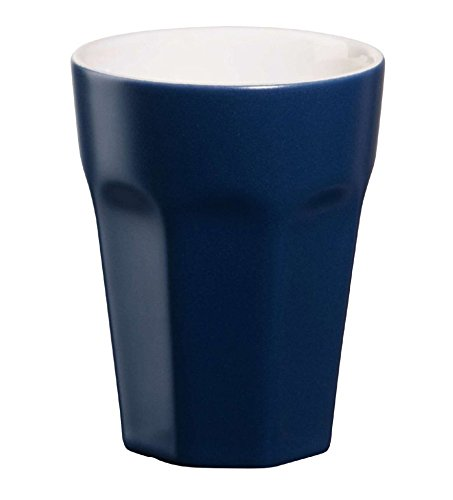 Becher Espresso, indigo D. 5,5 cm,H. 8 cm, 0,1 l.