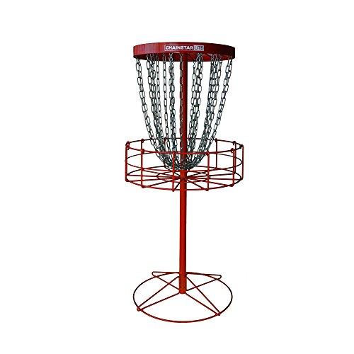 Discraft Chainstar LITE 24-Chain Disc Golf Basket - Red