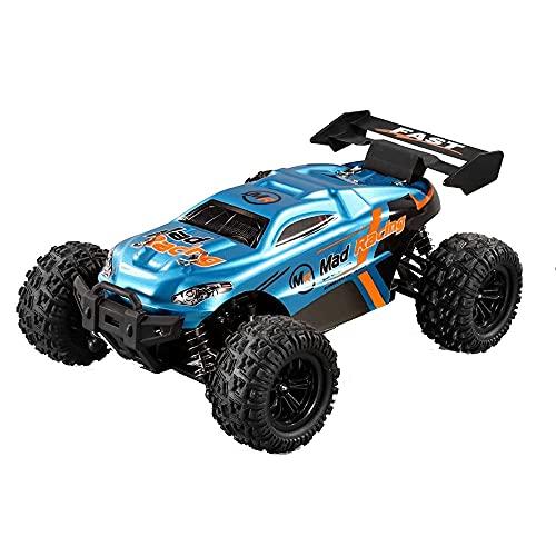 Lihgfw 1/18 Offroad-Drift-RC-Autos, 4WD High Speed 50Km / H All Terrains Elektrisches Spielzeug Offroad-Drift-RC-Monster-Fahrzeugauto Mit Akku, Jungen Und Erwachsene (2 * Batte