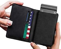 STEALTH Wallet Secure RFID Blocking Card Holder Slim Ejector Wallet Rose Gold