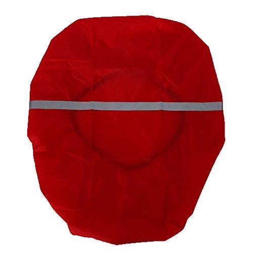 Sharplace Housse de Sac à Dos Protection Contre Pluie Idéal pour Sac de Randonnée/Escalade/Pêche - Rouge, 30-40L