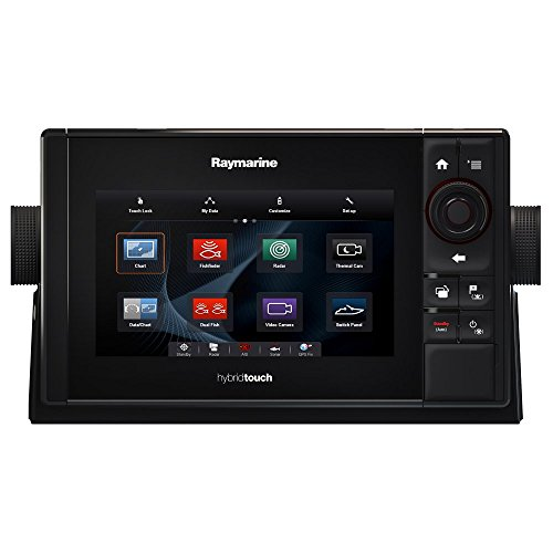 Raymarine ES75 Multifunction Display with Wi-Fi & Lighthouse USA Vector Charts, 7""