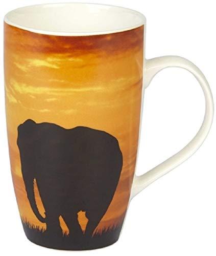Großer Becher mit Elefantenmotiv für Tee/Kaffee/Hot Chocolate – 15 cm