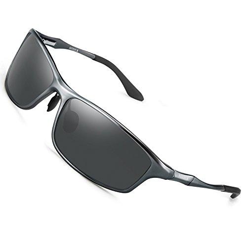 Polarized Metal Retro Sunglasses For Men Women Sports Fishing Driver Sunglasses