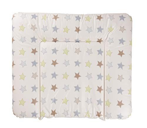 Geuther - Wickelauflage / Wickelmulde 5835, abwaschbar, geschweißt, mit Kopfschutz, 85 x 75 cm, Sterne