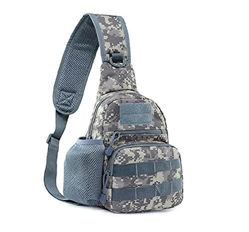 Bolso multifuncional del pecho del alpinismo del viaje del bolso del mensajero del bolso al aire libre del bolso del viaje, delete, Talla única