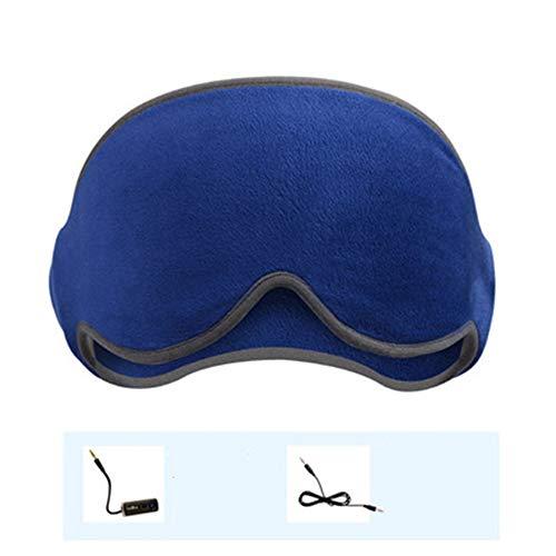 Bluetooth Music oortelefoons Slaap Goggles te helpen slapen, maken zachte muziek Relax en rustig ademend en comfortabel Washable,2