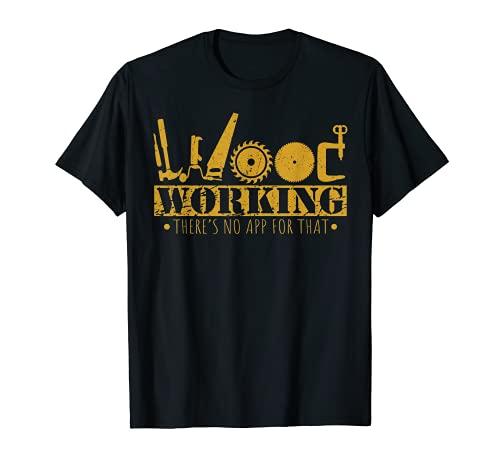 Contractor Gift Woodworking Tools Wood Worker Humor Handyman T-Shirt
