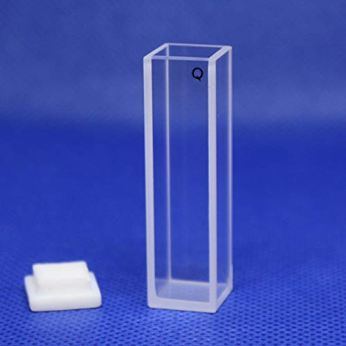 50mm Large Cell Cuvettes spectrometer Fluorescence Quartz Cuvette 1cm 5cm 10mm